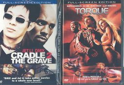 Torque/Cradle 2 the Grave DVD 2 Pack