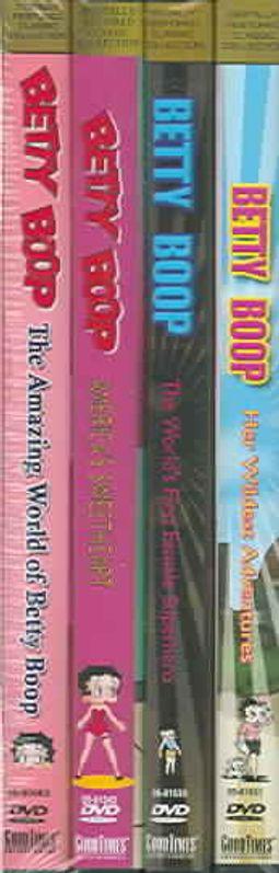Best of Betty Boop - 4 Pack