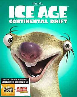 ICE AGE:CONTINENTAL DRIFT