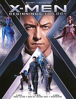 X MEN:BEGINNINGS TRILOGY