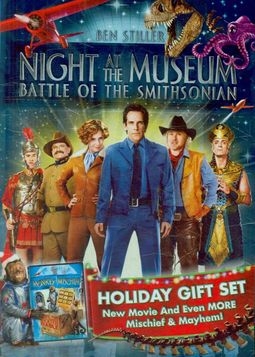 *NIGHT AT THE MUSEUM 2PK
