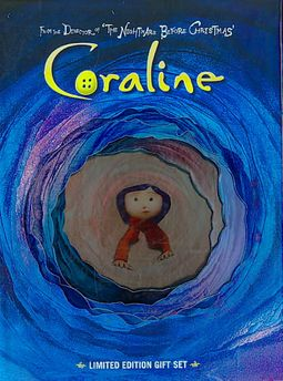 Coraline Gift Set Ce Henry Selick 025192050251 Hpb