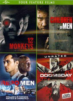 12 Monkeys/Children of Men/Repo Men/Doomsday