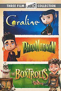Three Film Laika Collection: Coraline/ParaNorman/The Boxtrolls