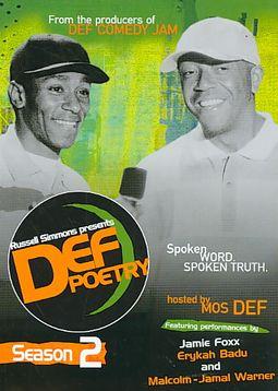 Russell Simmons Presents Def Poetry Jam: Season 2