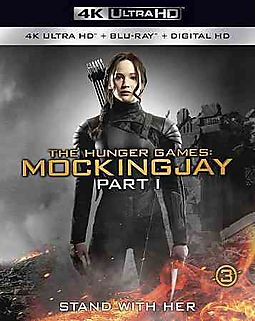 HUNGER GAMES:MOCKINGJAY PART 1 (4K UL