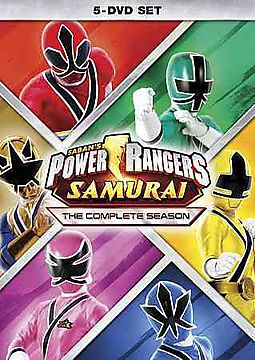 POWER RANGERS SAMURAI:COMPLETE SEASON
