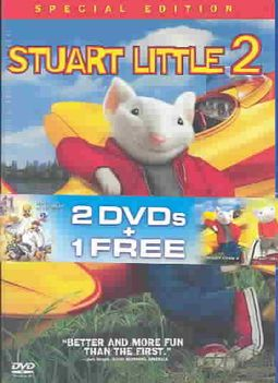Stuart Little Trumpet Of The Swan Dvd 3 Pack Rob Minkoff 043396014718 Hpb