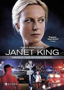 JANET KING:SERIES 2 THE INVISIBLE WOU