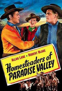 Red Ryder and Little Beaver - Homesteaders of Paradise Valley