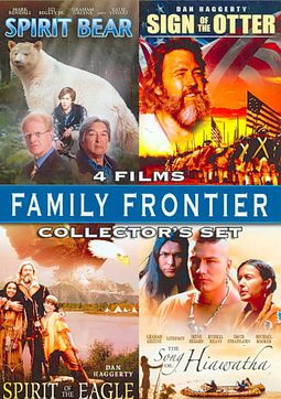 Family Frontier Collecter's Set - 4 Films: Spirit Bear / Sign Of The Otter / Spirit Of The Eagle / The Song Of Hiawatha