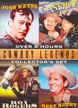 Cowboy Legends Collector's Set - 4 Films: John Wayne / Hopalong Cassidy / Roy Rogers / Gene Autry