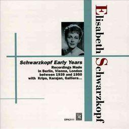 Elisabeth Schwarzkopf: Early Years