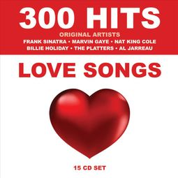 300 Hits: Love Songs [Box]