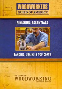 SANDING STAINS & TOP COATS