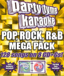 Party Tyme Karaoke: Pop, Rock, R&B Mega Pack [Box]