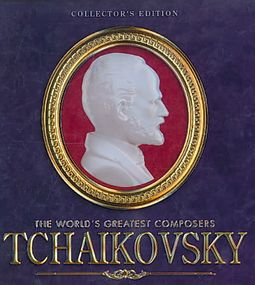 The World's Greatest Composers: Tchaikovsky [Collector's Edition Music Tin]  by Composer: Pyotr Il'yich Tchaikovsky (Composer) (1840 - 1893) Artist: