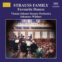 Strauss Family: Favourite Dances