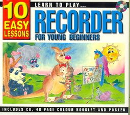 Learn to Play Recorder for Young Beginners [Slipcase]