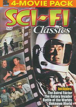 Sci-Fi Classics 4 Movie Pack - Vol. 1