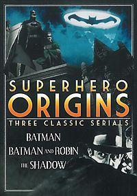 SUPERHERO ORIGINS:3 COMPLETE SERIALS