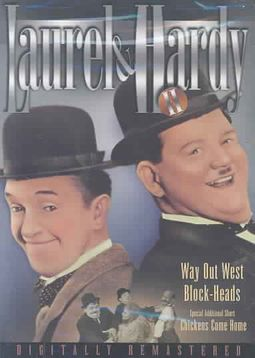 Laurel and Hardy II - Way Out West/Block-Heads