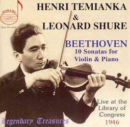 Beethoven: 10 Sonatas for Violin & Piano