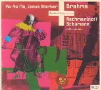 BRAHMS:SONS. FOR VIOLON CELLO/SCHUMAN