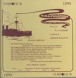 Gilbert & Sullivan: H.M.S. Pinafore [1907]