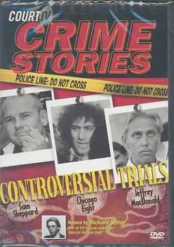 Court TV - Controversial Trials: Sam Sheppard, The Chicago Eight, and  Jeffrey MacDonald by SHEPPARD,SAM
