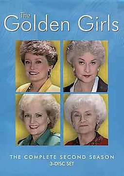 GOLDEN GIRLS:COMPLETE SECOND SEASON