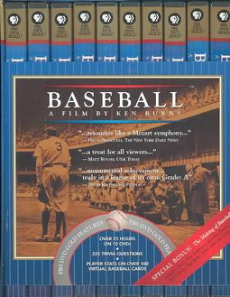 Baseball: A Film by Ken Burns - Nine Inning Boxed Set
