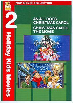 All Dogs Christmas Carol/Christmas Carol: The Movie - 2-Pack