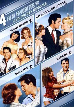 4 Film Favorite - Elvis Presley Musicals