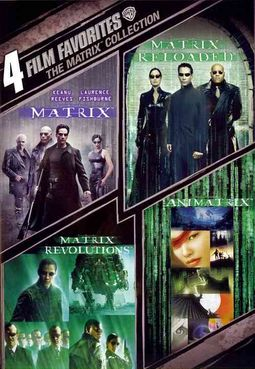 4 Film Favorite - The Matrix Collection