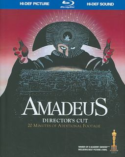 Amadeus [CD included with DVD]