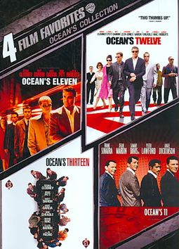 Ocean's Collection: 4 Film Favorites