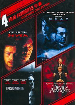Suspense Collection: 4 Film Favorites