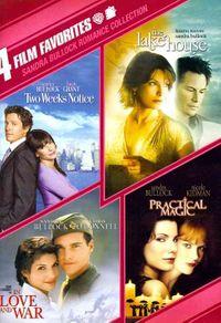 Sandra Bullock Romance Collection: 4 Film Favorites
