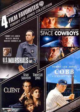 Tommy Lee Jones Collection: 4 Film Favorites