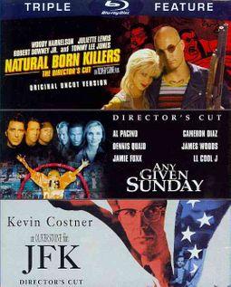 Natural Born Killers/Any Given Sunday/JFK