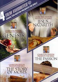 Charlton Heston Presents the Bible: 4 Film Favorites