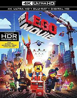 LEGO MOVIE (4K ULTRA HD)